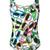Moschino - sunglasses print swimsuit - women - Polyester/Spandex/Elastane - 1, Polyester/Spandex/Elastane