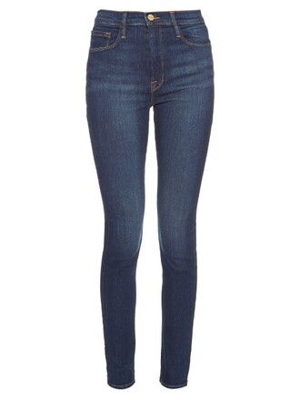 jeans skinny jeans high