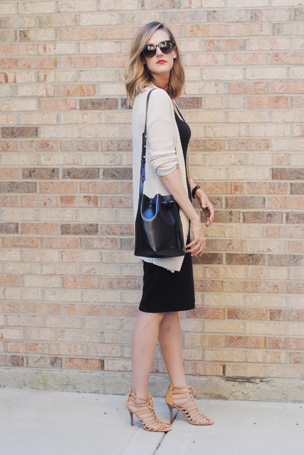 see jane blogger cardigan shoes bag