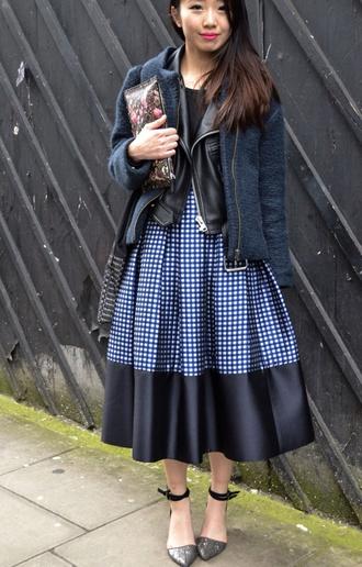midi skirt coat leather jacket leather bag winter jacket flats shoes glitter shoes skirt