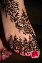 henna,make-up