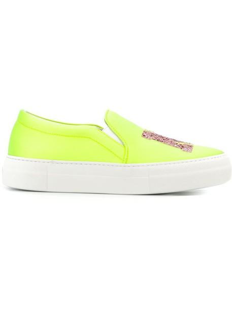 Joshua Sanders sneakers yellow orange shoes