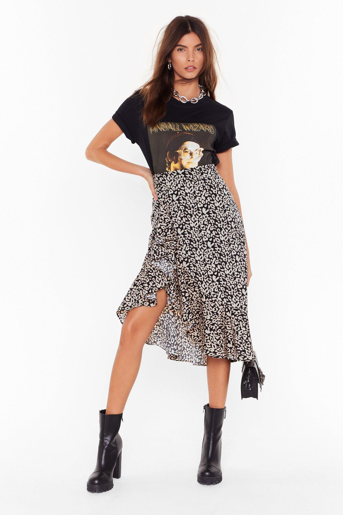 Don't Take It Purr-sonally Leopard Skirt | Shop Clothes at Nasty Gal!