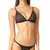 For Love & Lemons Samba Braided Tiny Bikini Top - Black