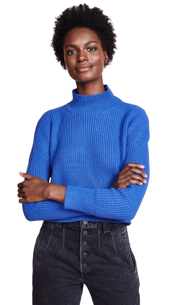 Knot Sisters Libby Sweater in blue