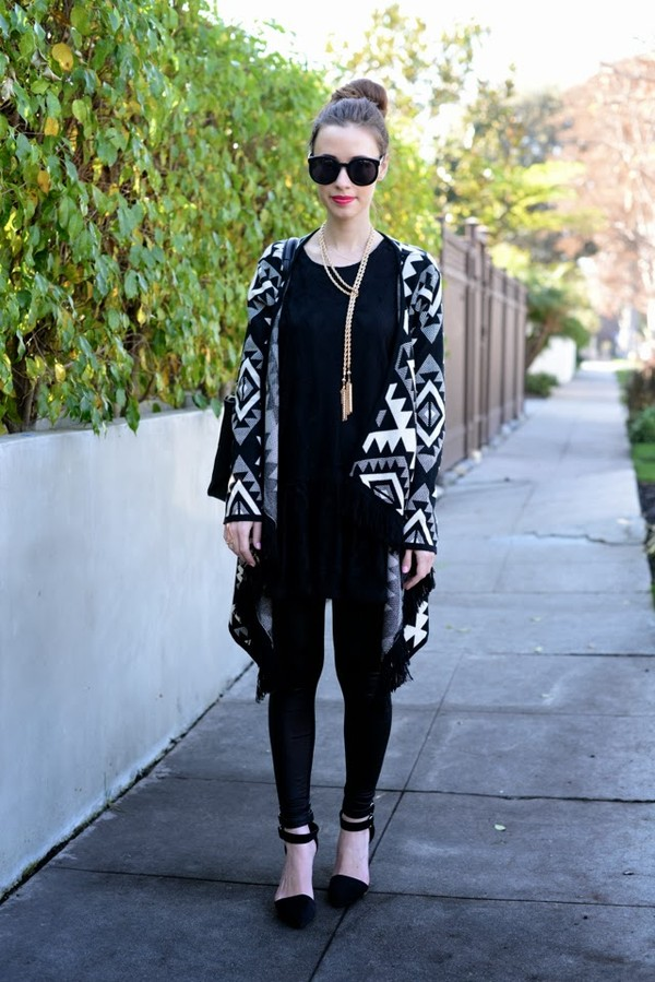 m loves m dress sweater pants shoes jewels sunglasses