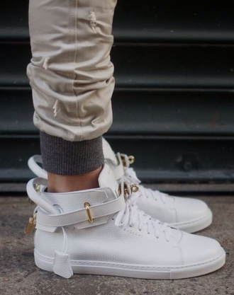 khaki pants joggers mens shoes mens high top sneakers