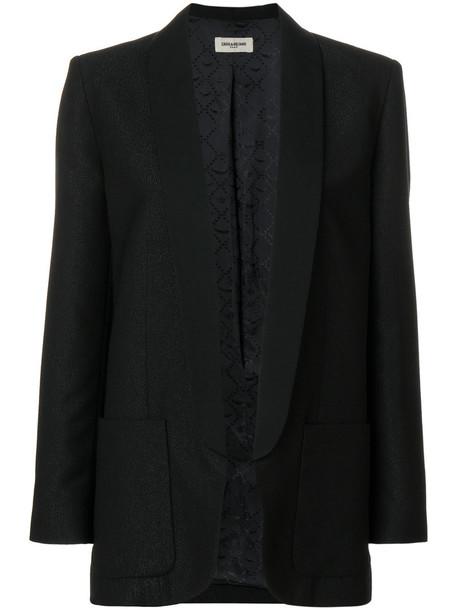 Zadig & Voltaire jacket women black bright