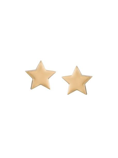 Alinka women earrings stud earrings gold yellow grey metallic jewels