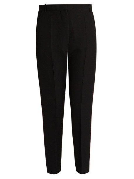 Haider Ackermann cropped wool black pants