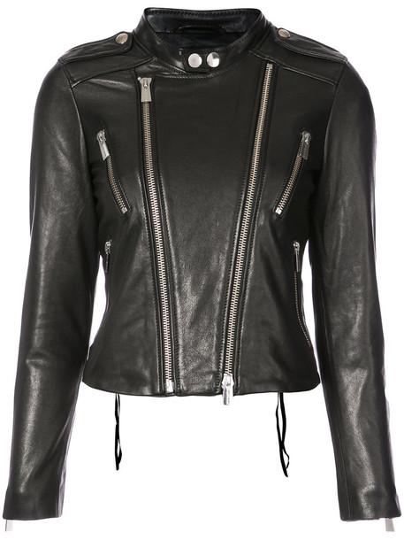 Anine Bing jacket women leather black
