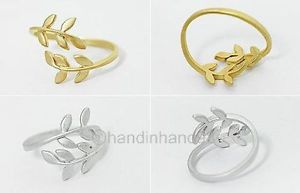 Free Postage Love Tree Branch Leaves Fashion jewellry Rings | eBay