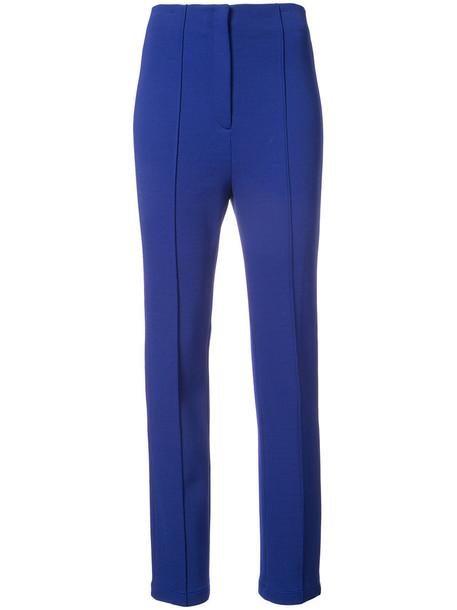 high women blue pants