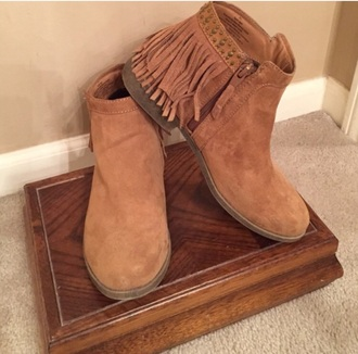 shoes suede ankle boot fringe ankle booties suede tan ankle booties fringe shoes ankle boots