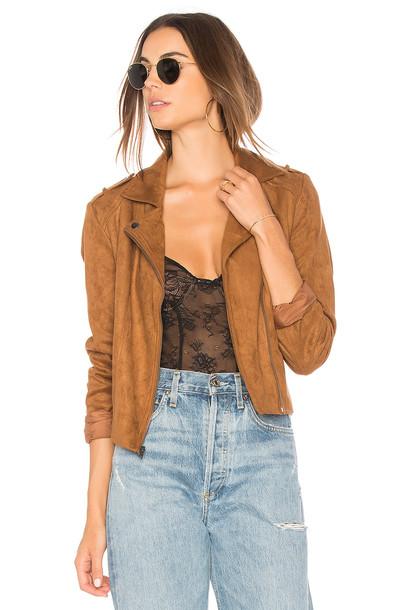 BB Dakota jacket tan
