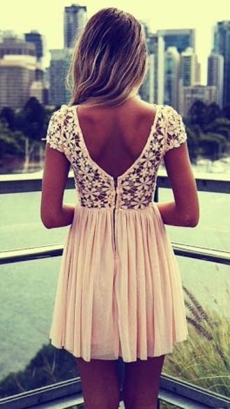dress summer lace short dress