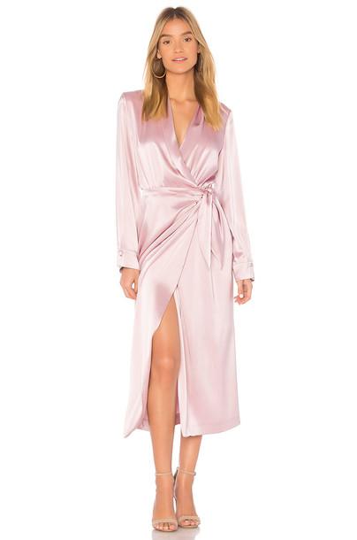 Nanushka dress pink