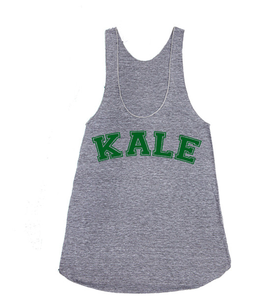 Kale Grey Tank Top · Luxury Brand LA · Online Store Powered by Storenvy