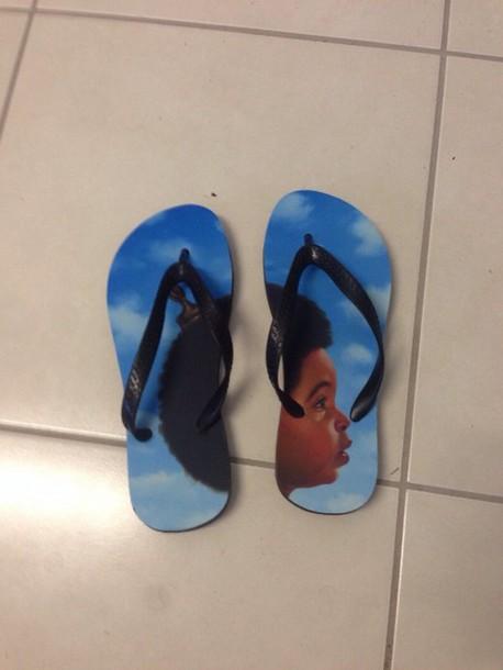 56b135e03a5e shoes drake nothing was the same flip-flops nothing was the same ovoxo 2014  flip