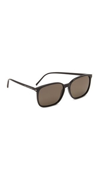 shiny sunglasses black grey