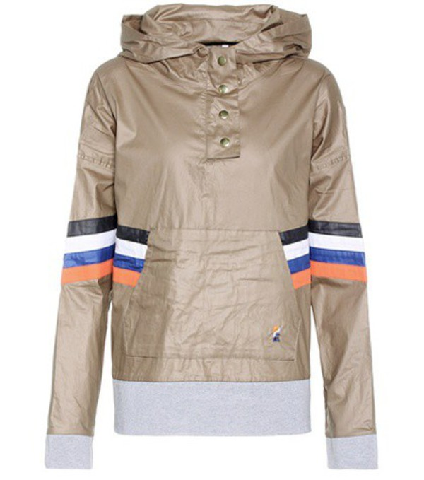 P.E Nation On Base cotton hoodie