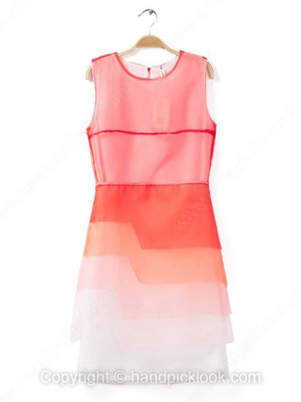 dress peach peach dress peach dresses tiered tiered dress tier ombre dress ombre ombré ombré dress