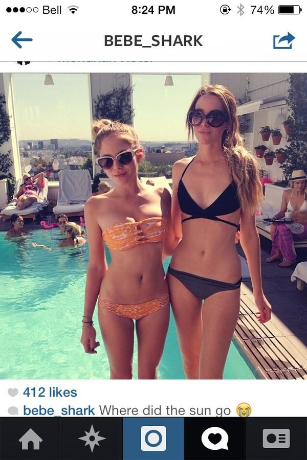 swimwear black instagram