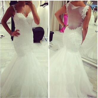 dress see through wedding dresses white wedding dress ivory wedding dress vintage lace wedding dress 2016 wedding dresses mermaid wedding dresses