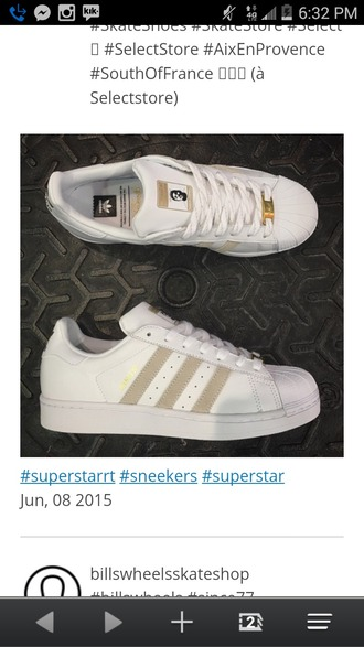 shoes adidas white and gold gold white adidas shoes
