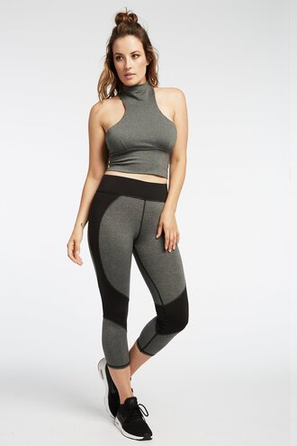 leggings grey sweatpants activewear workout leggings