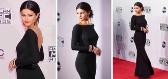 dress selena gomez backless dress
