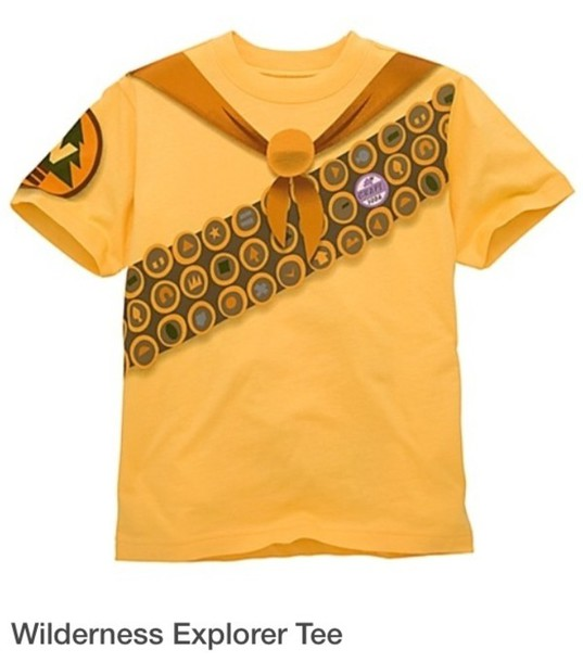 shirt wilderness explorer movie shirt