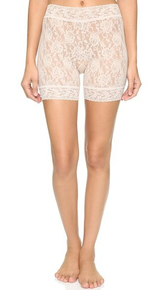 shorts bike lace