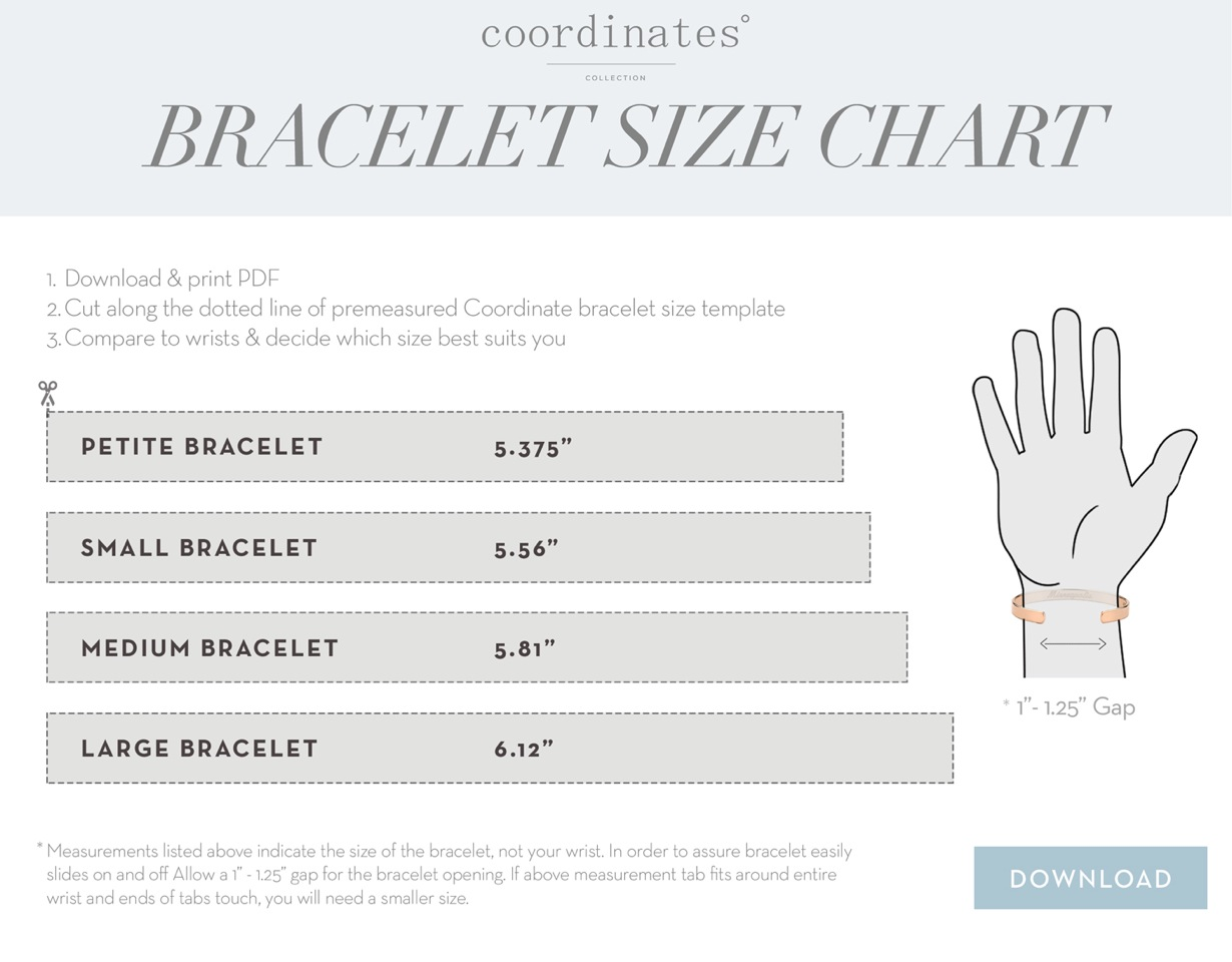Meridian Bracelet - Coordinates Collection