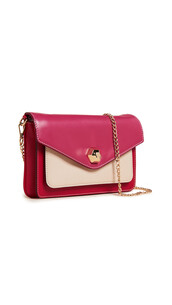 clutch,pink,red,bag