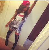 shirt,shirt dress,sleeveless shirt,blogger,chic,fashion,shopaholic,heels,thigh high boots,spring outfits,swag,fashionista,ootd,t-shirt dress,long shirt,style,laced up heels,wheretofindit,followmyinstagram,celebrity style,summer outfits,high heels black,snapback,blogspot,shoes,urban,cute,black girls killin it,black heels,sexy,wavy hair,shark week,shark,dope,trill,sea creatures,hipster,t-shirt,beach,war,white,blue,movie