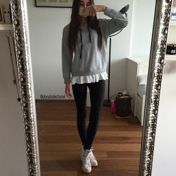 blouse hoddie