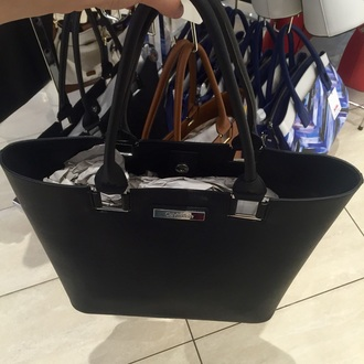 bag black black bag calvin klein tote bag