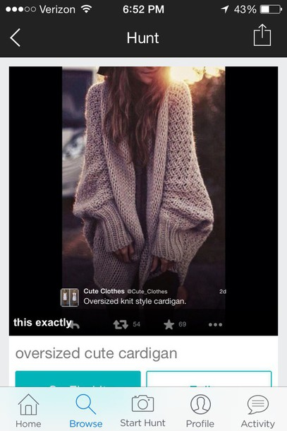cardigan oversized cardigan nitted cartigan