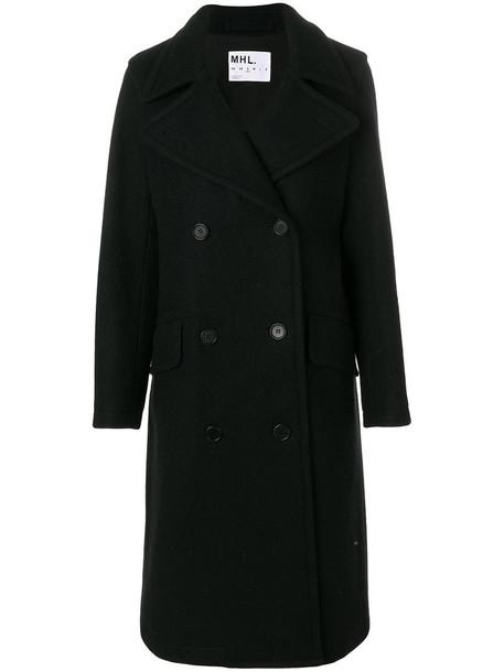 Margaret Howell coat women cotton blue wool
