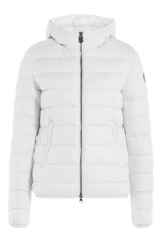 jacket down jacket quilted white