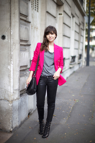 jacket pink jacket betty