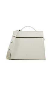 satchel,mini,triangle,bag