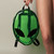 Alien Clear Green PVC Clubkid Backpack