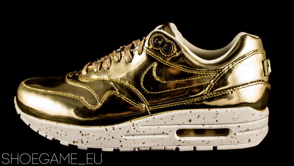 Nike air max 1 i sp liquid gold 635786