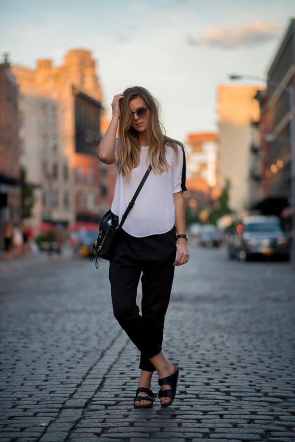take aim blogger top bag shoes sunglasses
