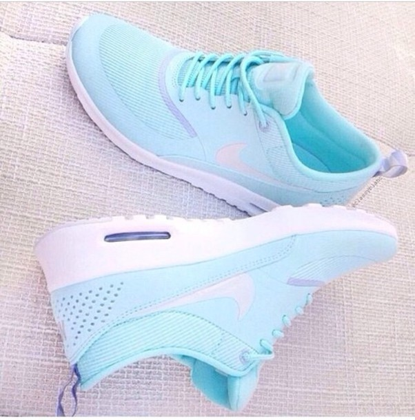 ab68924cec shoes gloves baby blue nike air max new shoes trainers sportswear sporty  tumblr pretty cute bag