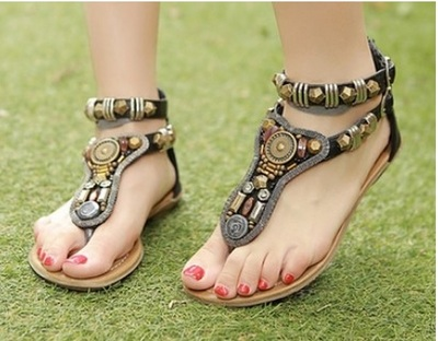 Women flat vintage sandals · australian wardrobe · online store powered by storenvy