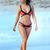 Multi Swimsuit - Bqueen Candy Color Bandage Bikini   UsTrendy