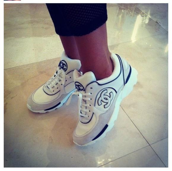 chanel basket sneakers